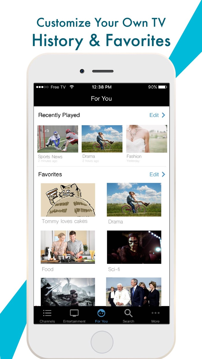 Unlimited TV:News & TV Shows Screenshot