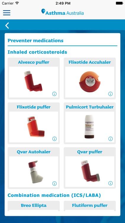 Asthma Australia - Asthma App screenshot-3