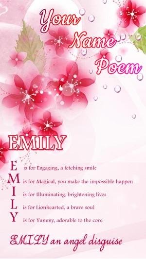 Name Poem Maker On The App Store The application creates poems based on user input. name poem maker on the app store