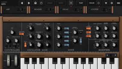Minimoog Model D Screenshot 5