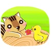 Adorable Chipmunk Sticker