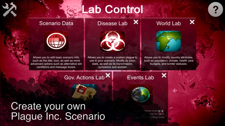 Plague Inc: Scenario Creator