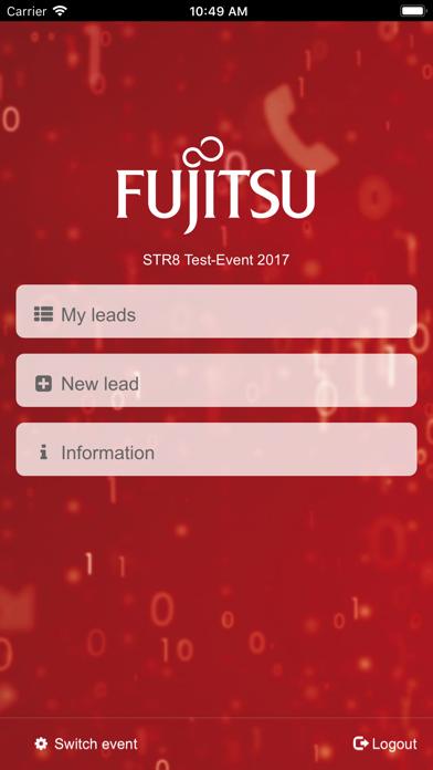 Fujitsu Leads screenshot two