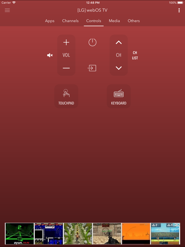 ‎Smart Remote for LG TV Screenshot