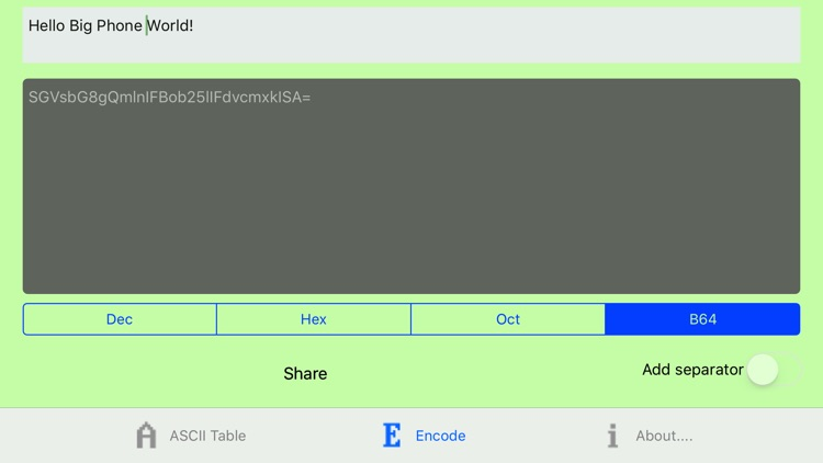 ASCII Codes Table screenshot-3