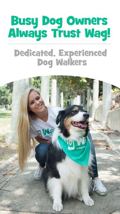 Wag! - Instant Dog Walkers screenshot-0