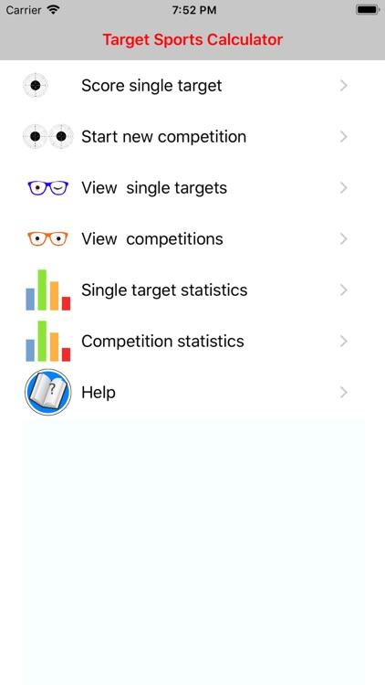 Target Sports Calculator