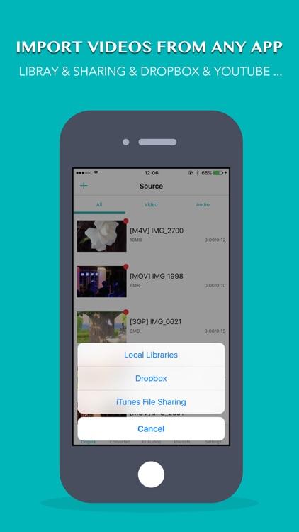 iConv: Video & Audio Converter