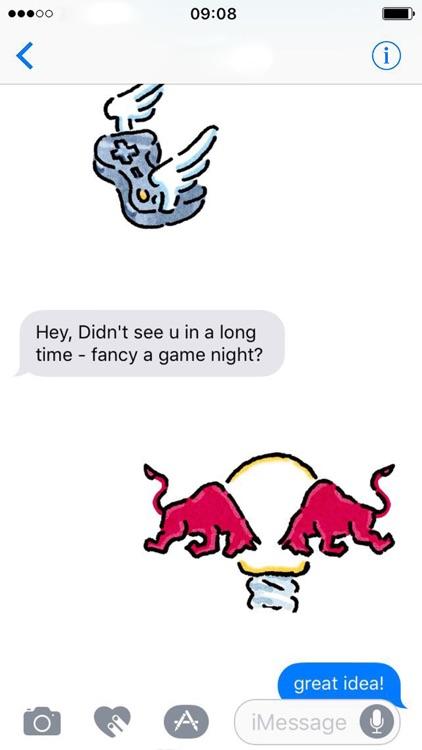 Red Bull Stickers screenshot-4