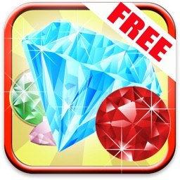 Jewel Blitz Frenzy - match three to crush the gems