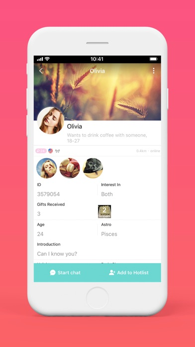 SayHi Chat - Messenger to Love, Meet, Match, Dating Hot People for Singles screenshot