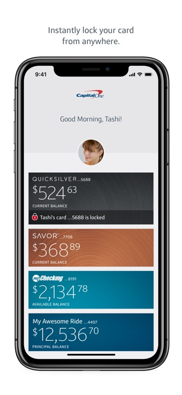 capital one credit card banking app