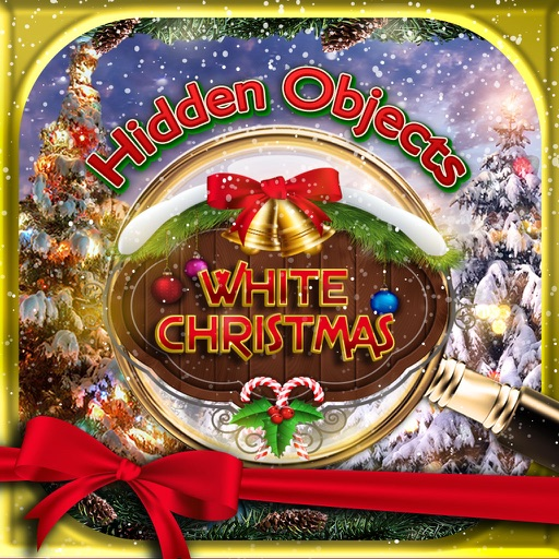 Hidden Objects White Christmas Winter Holiday Time