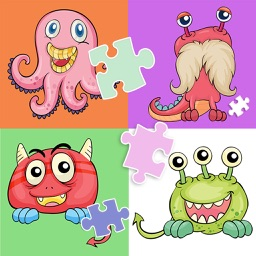 Cute Monster Jigsaw Puzzle