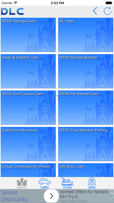 DLC - Disney Web Cams