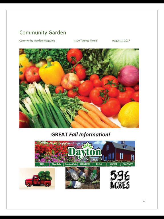 Community Garden Magazine screenshot 8