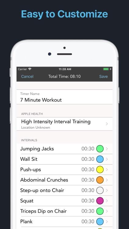 Intervals - HIIT Workout Timer screenshot-4