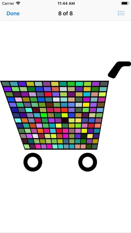 Shopping Cart Stickers screenshot-9
