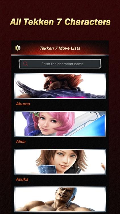 Move Lists For Tekken 7 By Jiansheng Lin