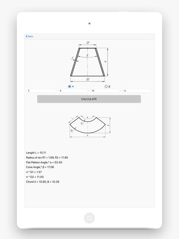 Flat Pattern Bend Calculator screenshot 8