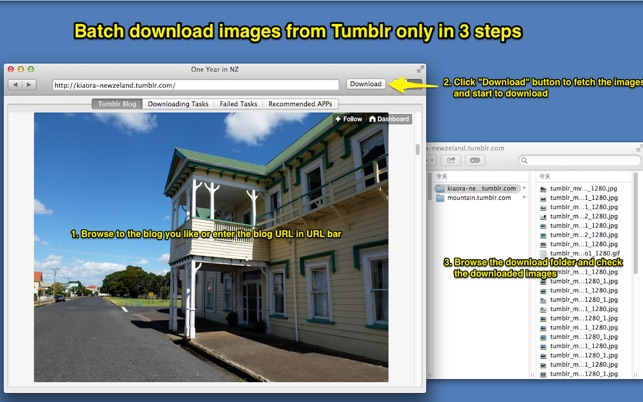 Images Crawler for Tumblr
