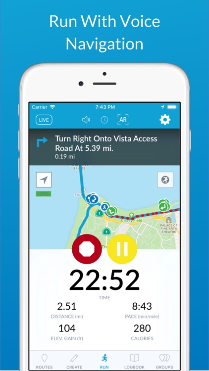 RunGo - The Best Routes to Run screenshot-0