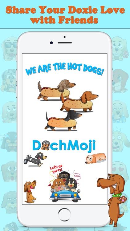 DachMoji: Sausage Dog Stickers