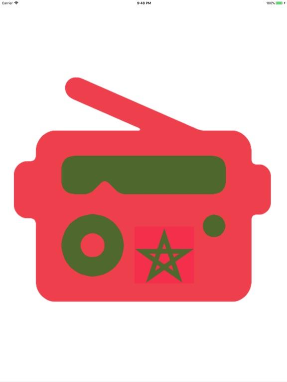 Maroc Radios الإذاعات المغربية-ipad-3