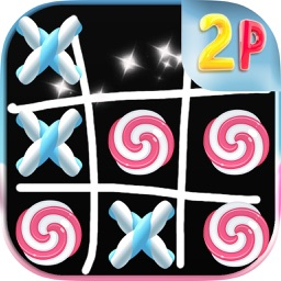 Tic Tac Toe ! Candy 2 Player