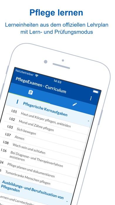 Screenshot for Pflege Examen - Krankenpflege in Germany App Store