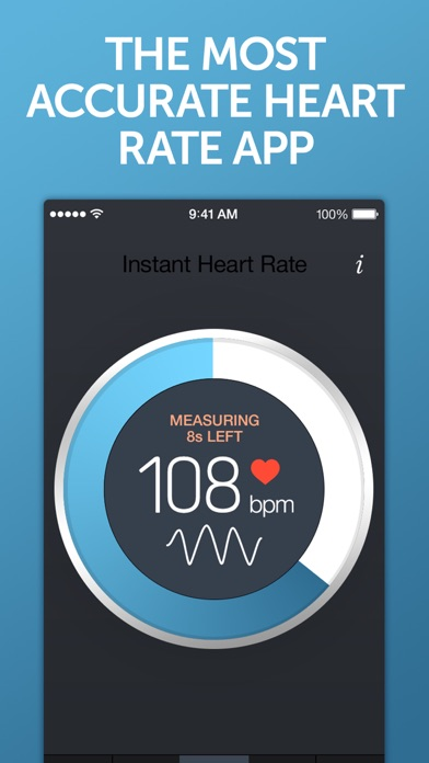Instant Heart Rate review screenshots