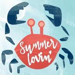 Summer Lovin' Stickers!