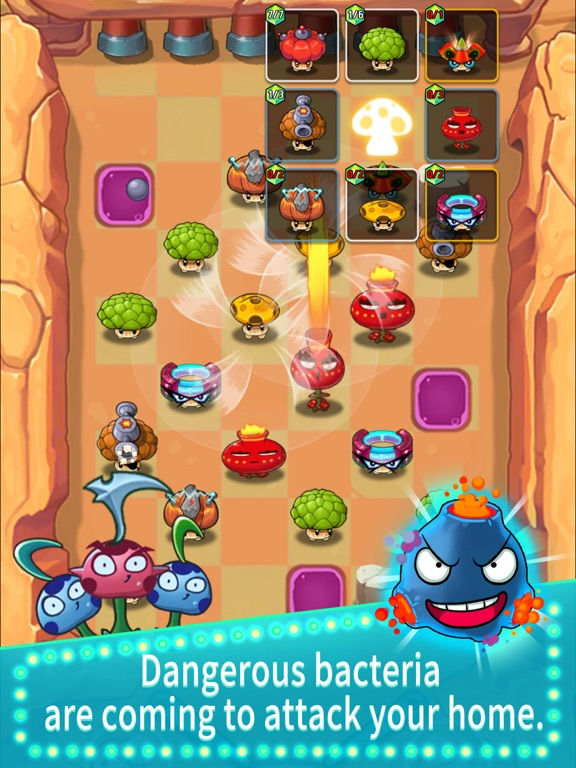 Super Mushroom VS Bacteria screenshot 11