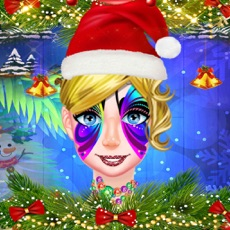 Activities of Christmas Face Art Salon Party