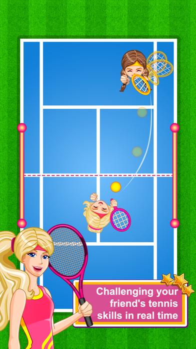 Amazing Princess Tennis Pro screenshot two