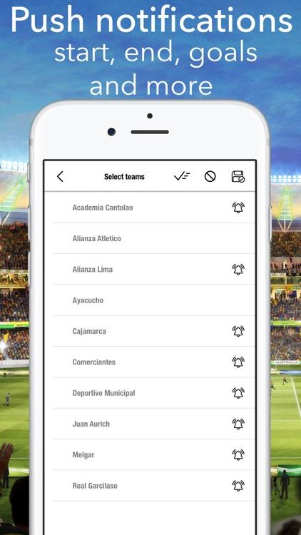 Live Primera Division Peru screenshot-3