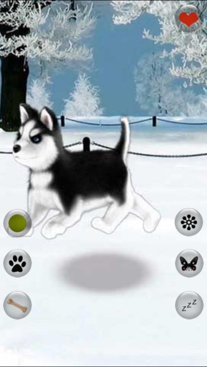 Talking Dog Virtual Pet Husky screenshot-4