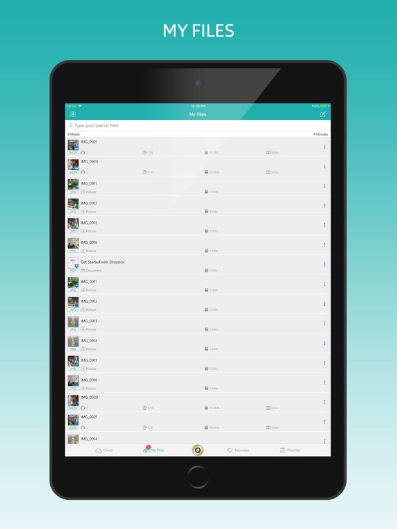 MyMedia - File Manager & Vault-ipad-1