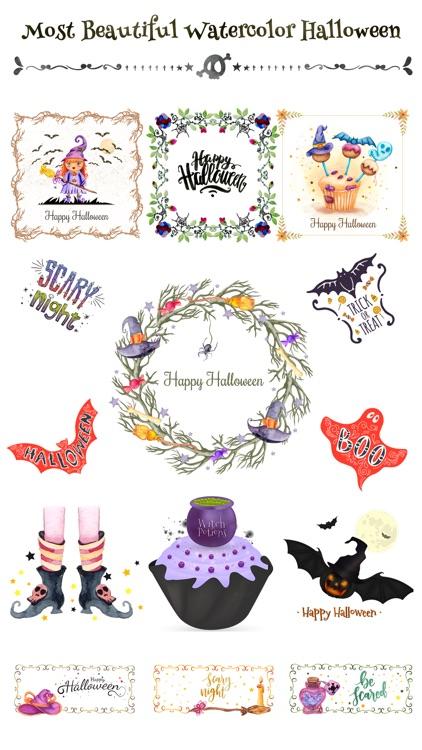 Beautiful Watercolor Halloween