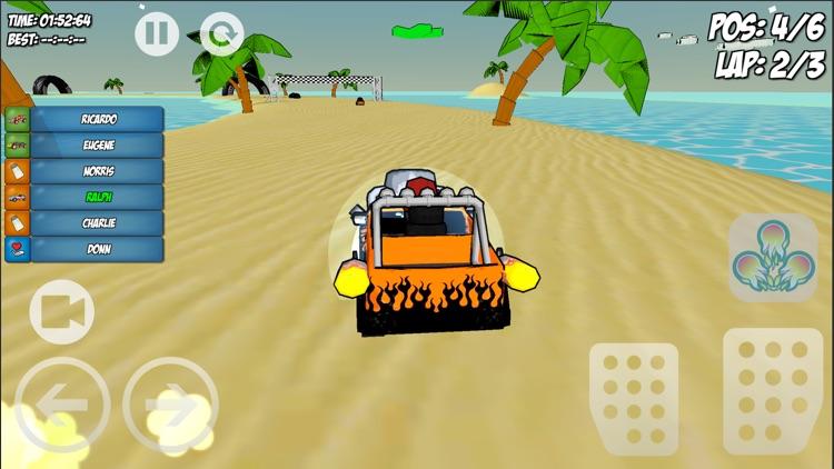 Minion Kart Multiplayer Racing screenshot-3