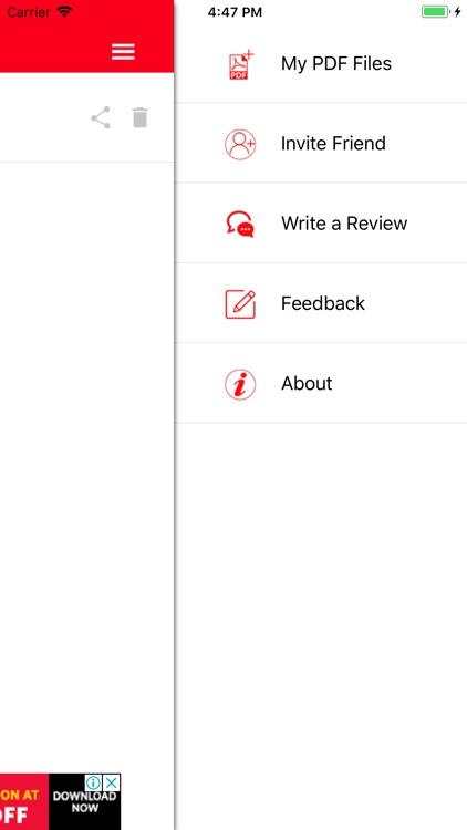 PDF Converter : Word to PDF screenshot-4