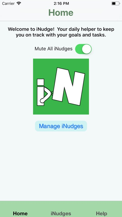 iNudge screenshot #3