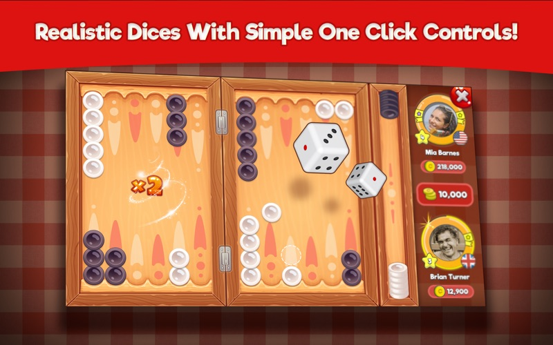 Backgammon Stars for Mac