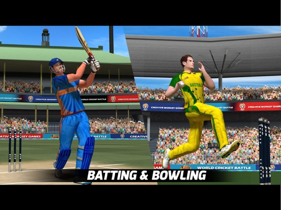 iPad Image of World Cricket Battle
