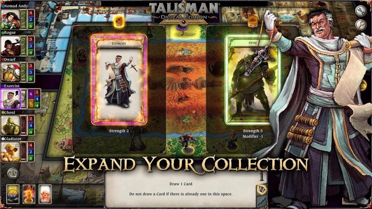 Talisman: Digital Edition screenshot-4