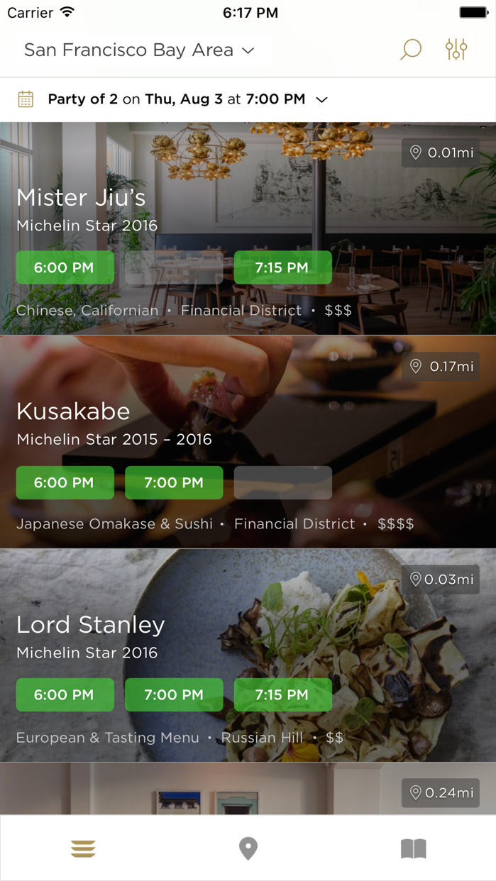 Reserve for Diners Screenshot