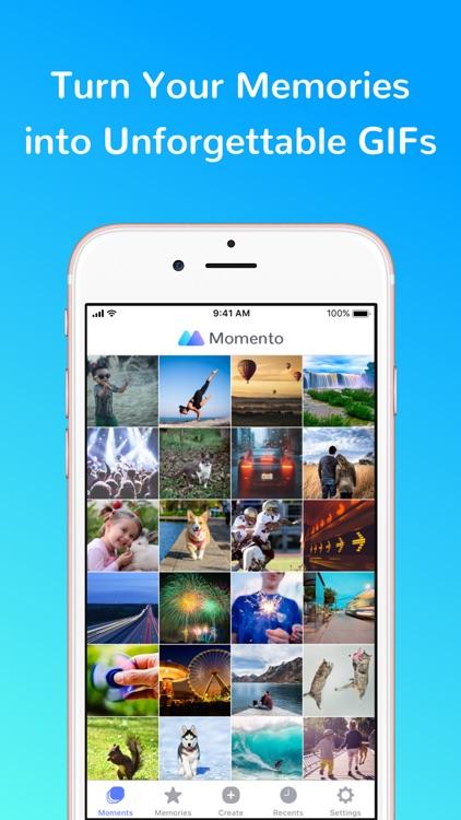 Momento - GIF Maker screenshot-0