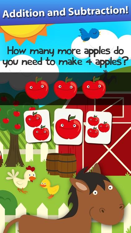 Animal Math Preschool Games