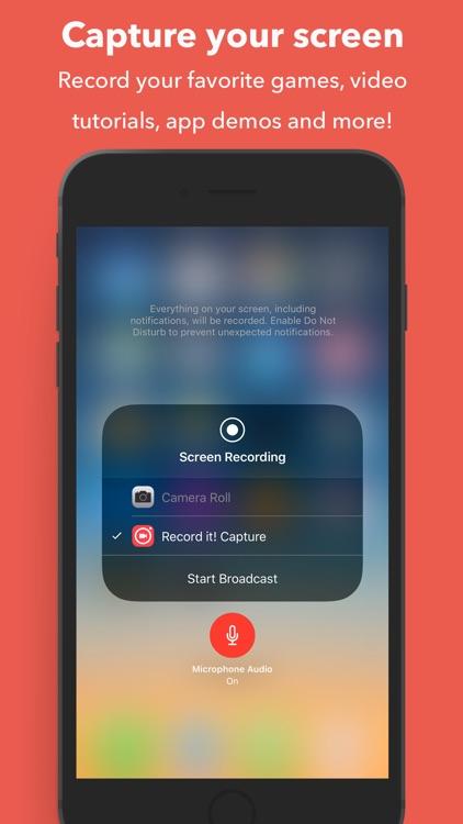 Record it! :: Screen Capture