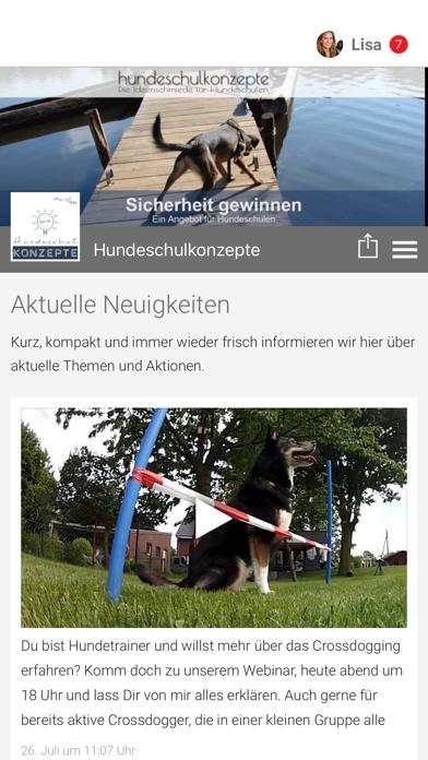 Hundeschulkonzepte screenshot 1